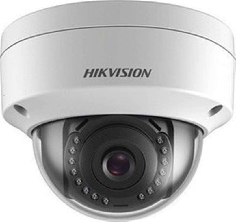 HIKVISION PoE HDTVI IP67, 4MP dome mini Exir, σταθερού φακού 2.8mm, λευκό χρώμα