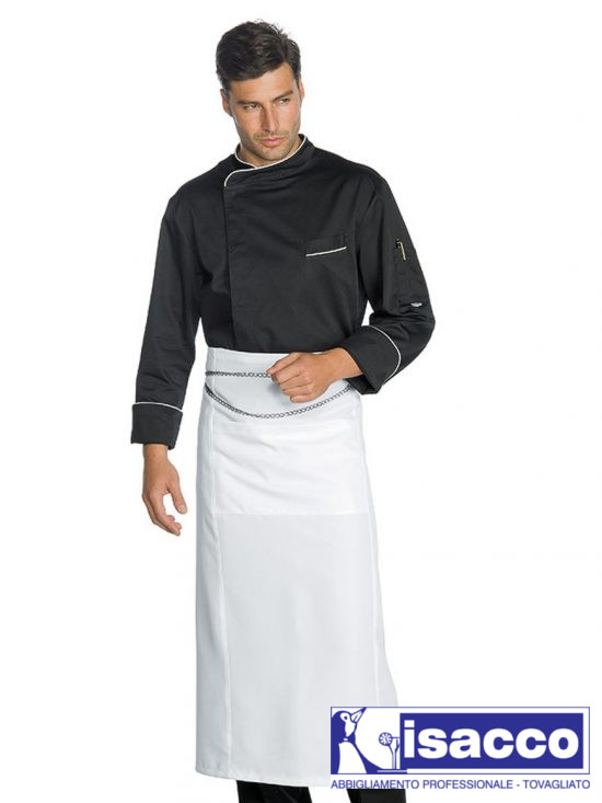 CHEF JACKET WITH SNAPS AND NET 37,20€