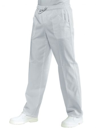 TROUSERS WITH ELASTIC WAIST WHITE 100% COTTON 22,32€–28,52€
