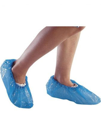 BLUE POLYETHYLENE OVERSHOES FOR VISITORS 4,96€