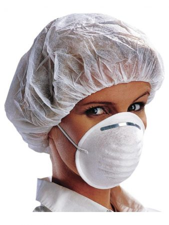 WHITE HYGIENIC MASKS 6,70€