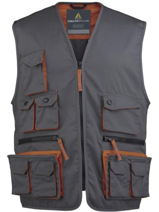 M2GIL MACH2 WORKING VEST IN POLYESTER COTTON 31,25€