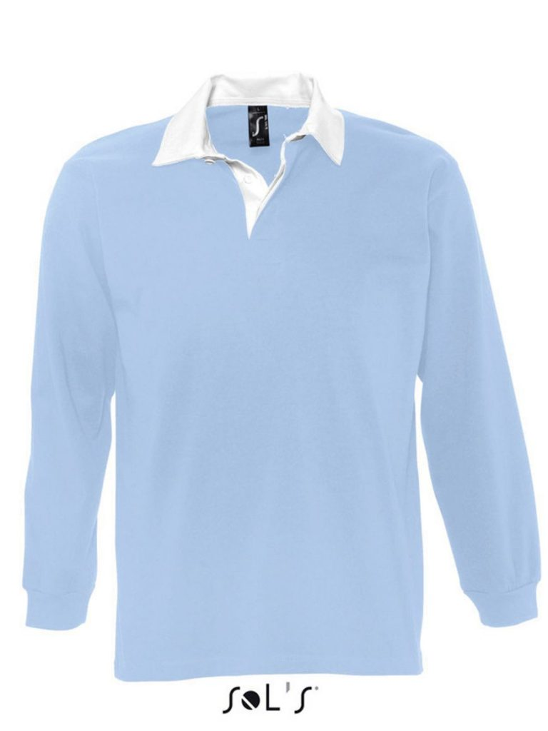 MEN'S TWO-COLOURED RUGBY POLO SHIRT 33,11€