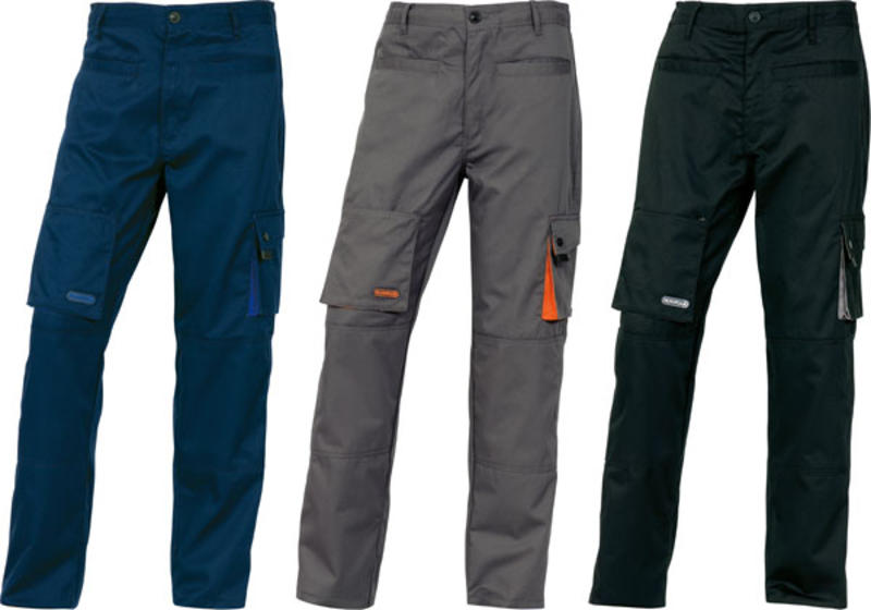 M2PAN MACH2 WORKING TROUSERS IN POLYESTER COTTON 31,25€