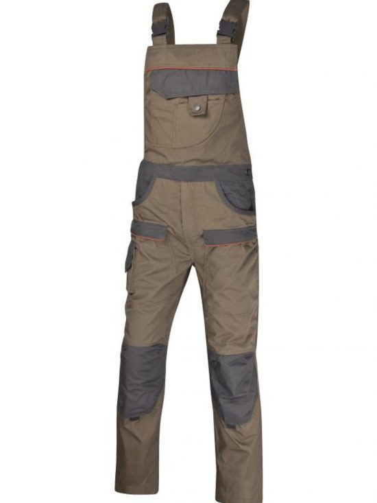 MCSAL MACH2 CORPORATE WORKING DUNGAREES IN POLYESTER COTTON 56,05€