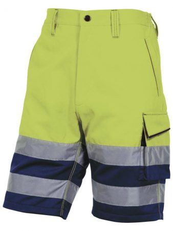 PHBER HIGH VISIBILITY WORKING BERMUDA IN COTTON / POLYESTER 37,20€