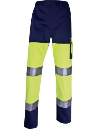 PHPAN PANOSTYLE HIGH VISIBILITY WORKING TROUSERS IN COTTON / POLYESTER 43,40€