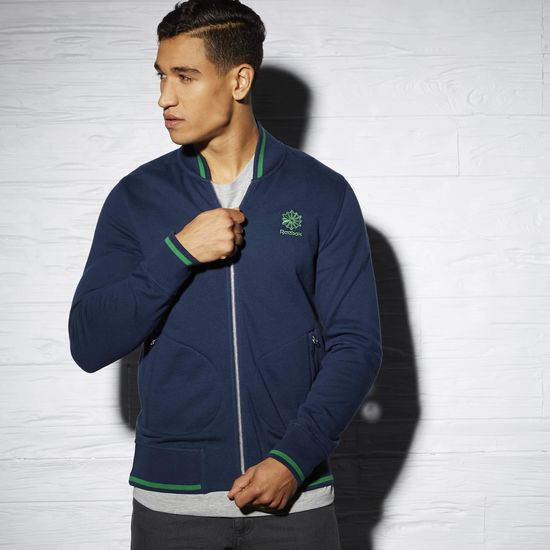 COURT CLASSICS TWO TONE TENNIS BOMBER