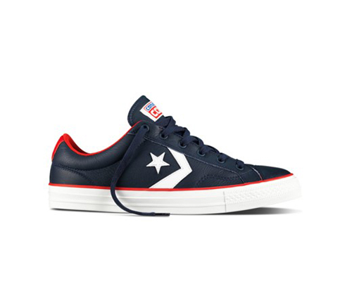 CONS STAR PLAYER OX NIGHTTIME NAVY/WHITE/CASINO