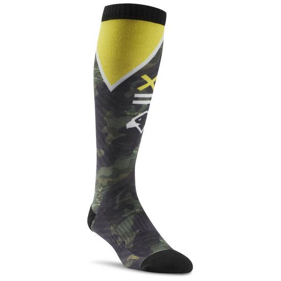 REEBOK CROSSFIT PRINTED KNEE HIGH SOCK