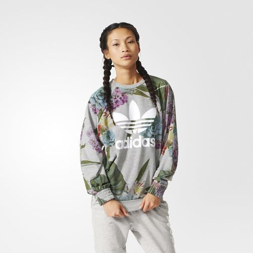 Training Allover Print Sweatshirt