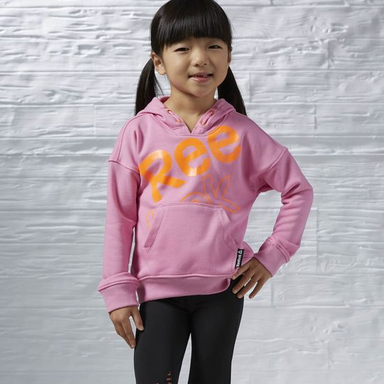 GIRLS ESSENTIALS PULLOVER HOODIE