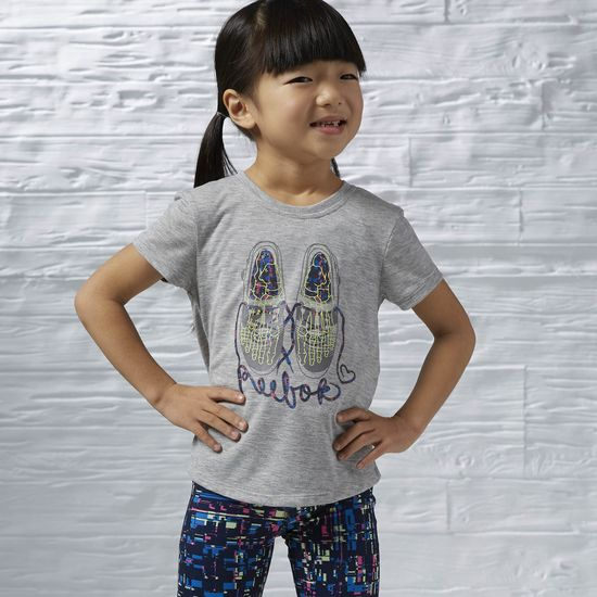 GIRLS URBAN PLAYGROUND TEE
